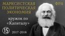 Карл Маркс «Капитал». №15. Том I, глава VI «ПОСТОЯННЫЙ КАПИТАЛ И ПЕРЕМЕННЫЙ КАПИТАЛ».