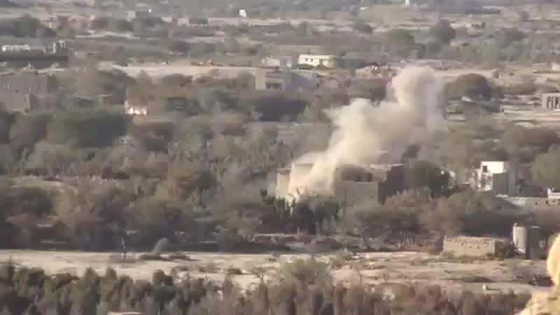 Судя по съемкам, Нац. армия сумела выбить хуситов из последних гор на севере Бакима в первой половине декабря 2018, и теперь они