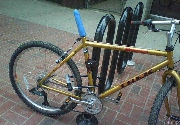 Велосипед и саматык