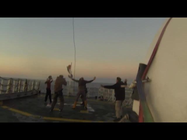 Greenpeace опубликовал видеозапись захвата Аrctic Sunrise