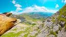 Through an Eagles Eyes Breathtaking 4K POV over the Alps