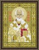 Stitch.kh.ua Вышивка крестом Наборы Риолис Иконы - Набор для вышивания Риолис 1034 Николай Чудотворец.