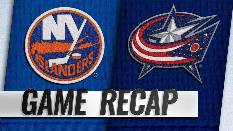 Cizikas, Greiss lead Isles to 3-0 win in Columbus