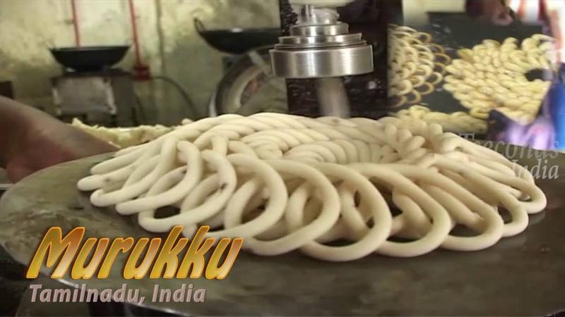 Murukku Twisted Crunchy Snack of Tamilnadu