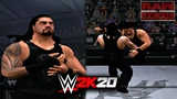 WWE 2K20 PS2Android - Roman Reigns ft. 'The Dead Man' The Undertaker