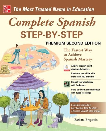 Complete Spanish Step-by-Step, 2nd Premium Edition