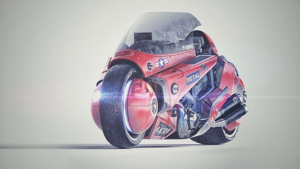 Джеймс Кью: концепт Akira