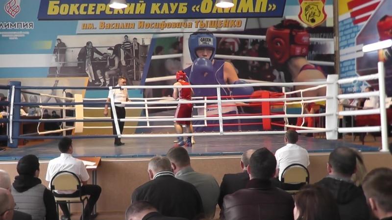 Чалоян Саид-Гафуров Комилджон т-р Тыщенко. 21.04.18. Финал.