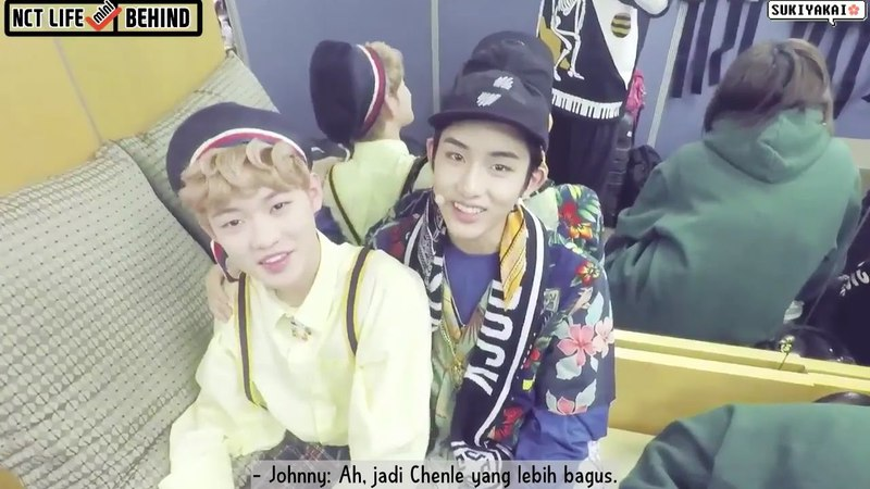 [INDO SUB] 170304 NCT LIFE MINI (BEHIND) - Johnny Interviews Winwin Chenle