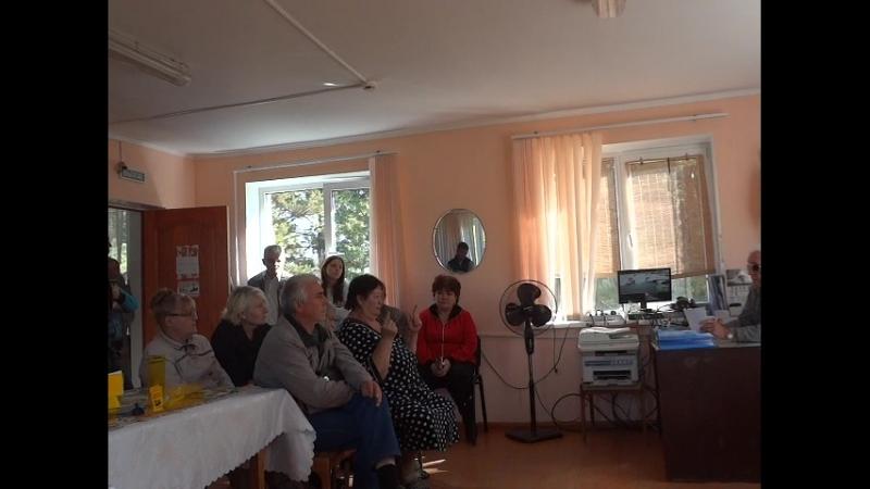 Собрание зимников СНТ Металлург2 г. Магнитогорск 2018 2