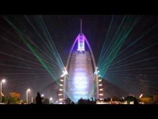 42nd UAE National Day Celebration, Burj Al Arab, Dubai HD