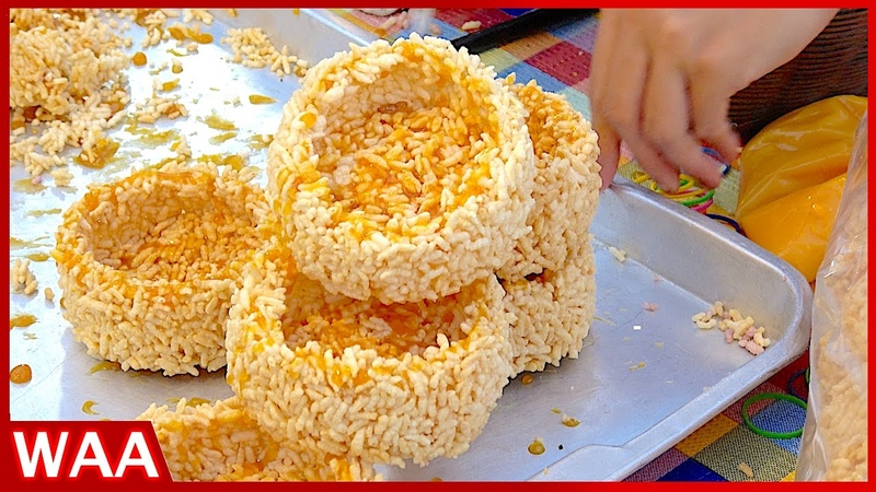 Street Foods Compilation - The Most Famous Tom Yum Goong, Crispy Rice Crust with Plam Sugar