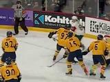Mooseheads Otto Somppi Lacrosse goal