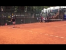Here is some video of 11 year old cancer survivor Marc Krajekian hitting some balls with @RafaelNadal earlier today in Barcelona