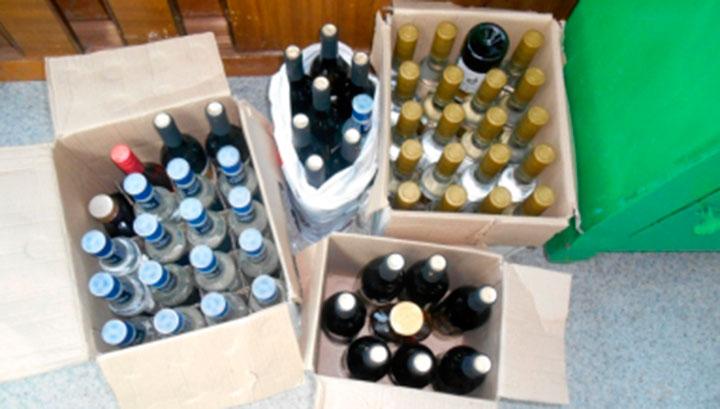 Женщина из Курджиново купила 66 бутылок паленого алкоголя в Зеленчукской