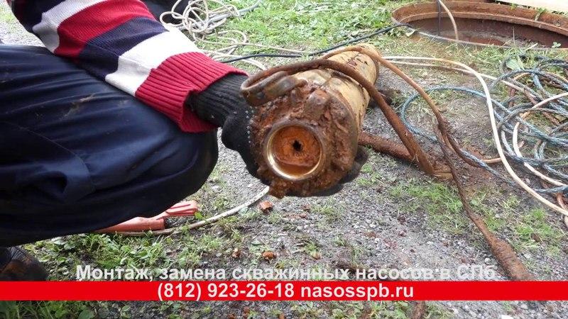 Скважинный насос Pedrollo отработал 16 лет в железистой воде