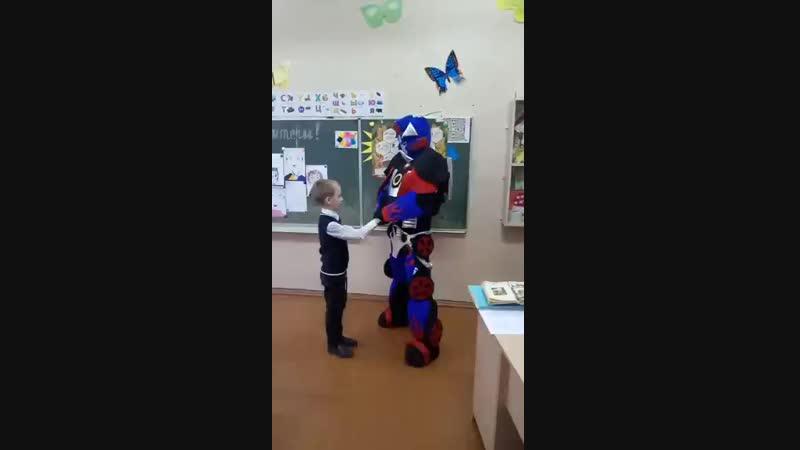 12.10.18 Оптимус Прайм поздравлял замечательного мальчишку Димку с днем рождения, 7 лет 👏👏👏