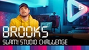 Brooks creates a track in 1 hour | SLAM! Studio Challenge