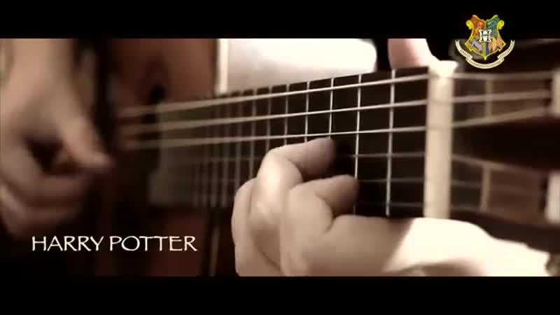 Гарри Поттер -Тема (разбор) _ на Гитаре _ Фингерстайл _ Табы _ GTP6_