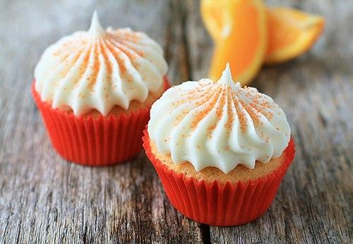Картинки по запросу Апельсиновые капкейки с шоколадом