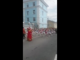 Ангелина участвует в параде ???