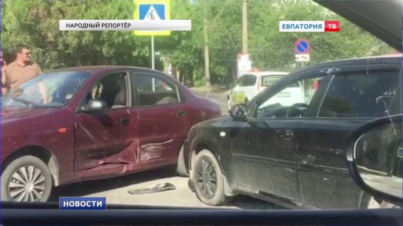 Количество ДТП на улицах Евпатории увеличилось