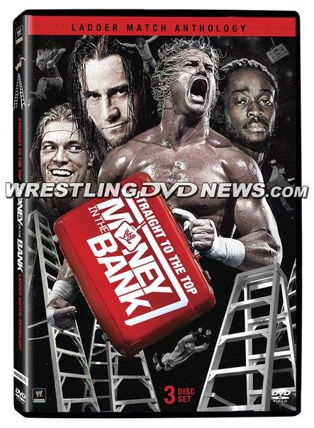 """Обложка антологии DVD """"Money in the Bank"""""""
