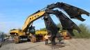 5 Dangerous Biggest Caterpillar Excavator Hydraulic Scrap Metal Shearing Powerful Machines Monster