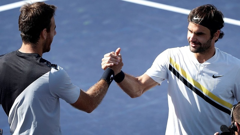 Roger Federer vs Juan Martin del Potro IW 2018