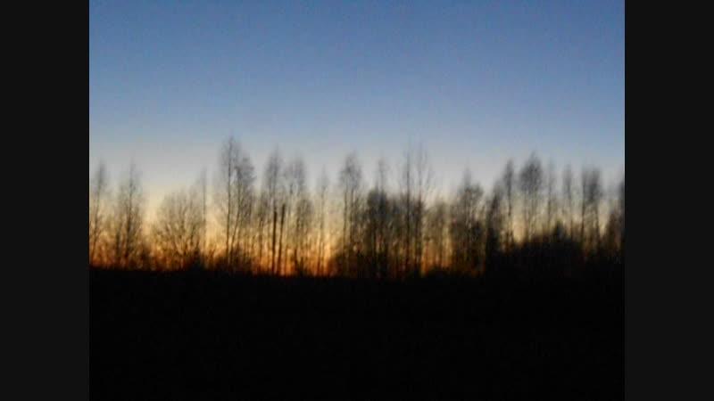 Вечерние прогулки на закате