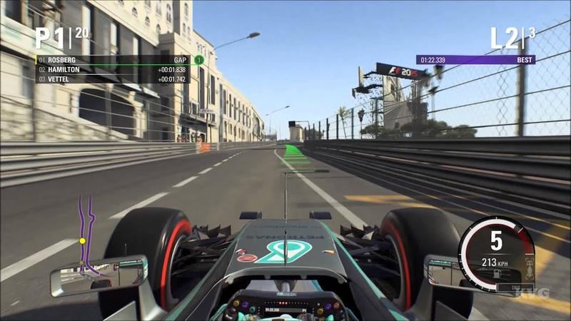 F1 2015 - Circuit de Monaco   Monaco Grand Prix Gameplay (PC HD) [1080p]