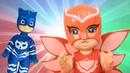 Новые Герои в масках 2 игрушки. Игра одень куклу Алет Кэтбой Геко Куклы для детей