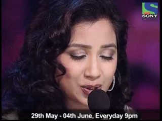 Shreya Ghoshal sings 'Beri piya' on X Factor