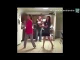 Тот момент, когда батя танцует круче