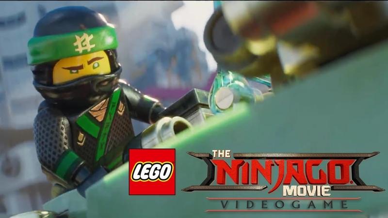 СПАСАЕМ ГОРОД 🏯 The Lego Ninjago Movie Videogame