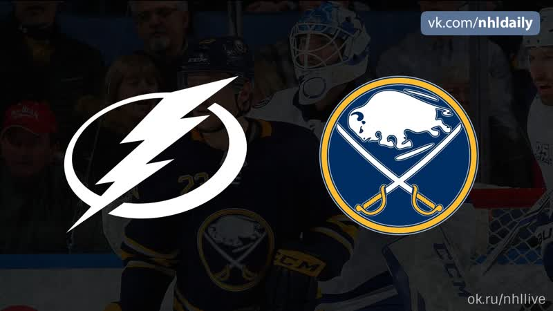 Tampa Bay Lightning Buffalo Sabres 14 11 2018