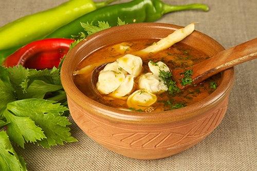 Как приготовить суп пельмени