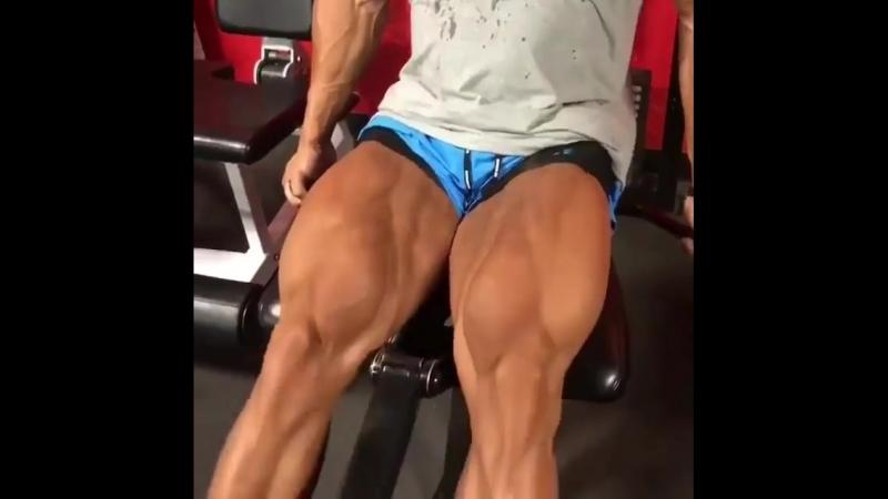 SADIK HADZOVIC тренирует ноги