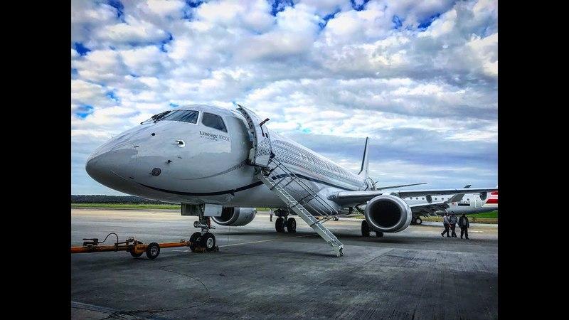 A bordo do Embraer Lineage 1000 o maior jato executivo do mundo