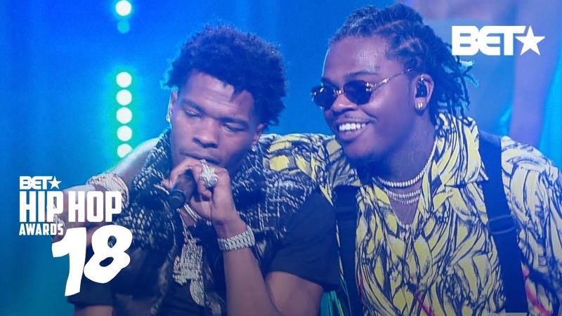 Выступление Lil Baby и Gunna с треками «Yes Indeed», «YOSEMITE» и «Drip Too Hard» на премии «2018 BET Hip Hop Awards»
