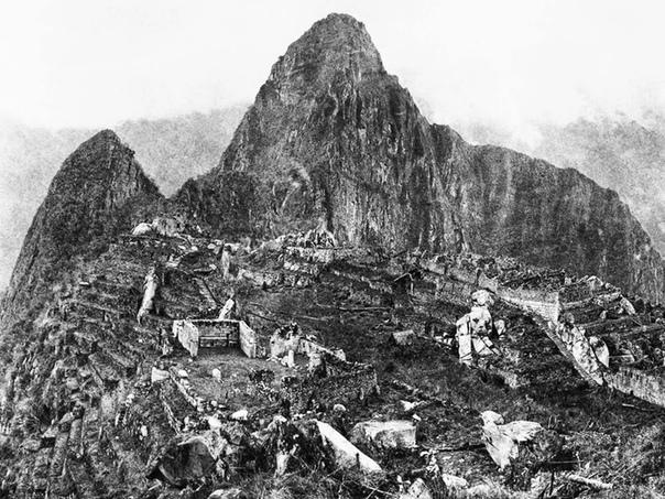 Фотография Мачу-Пикчу  таинственного города инков.