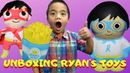 Ryan's World Toys Unboxing by 3mazings Franco and Bombom