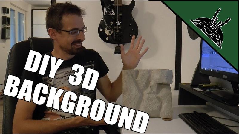 DIY: How to make a 3D background out of styrofoam for terrarium/vivarium