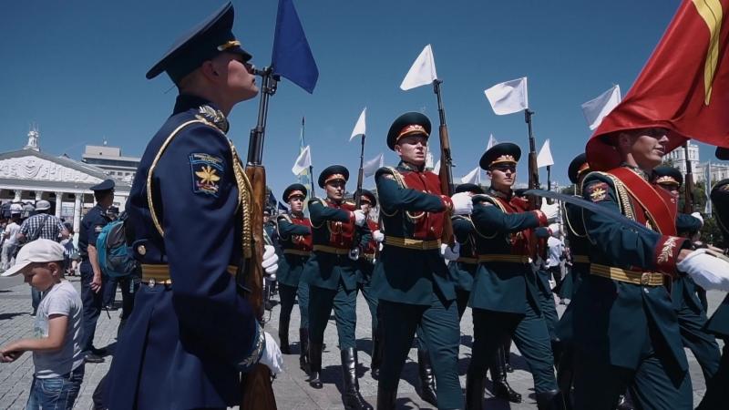 Выпускной ВУНЦ ВВС ВВА имени профессора Н. Е. Жуковского и Ю. А. Гагарина 2018 год