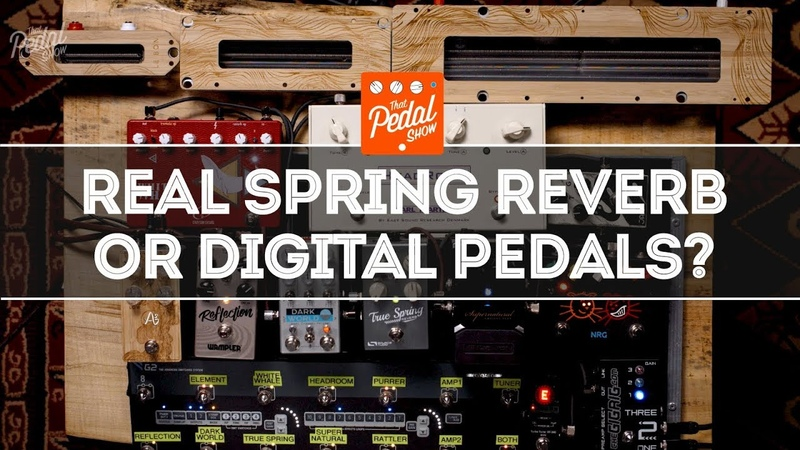 Wonderful Spring Reverb Genuine Spring Units Compared With Digital Pedals That Pedal Show