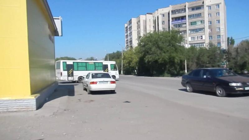 Майкудук летом   Автостанция 14мкр
