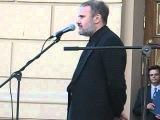 6 июня 2007 года. Тимур Алдошин читает стихотворение