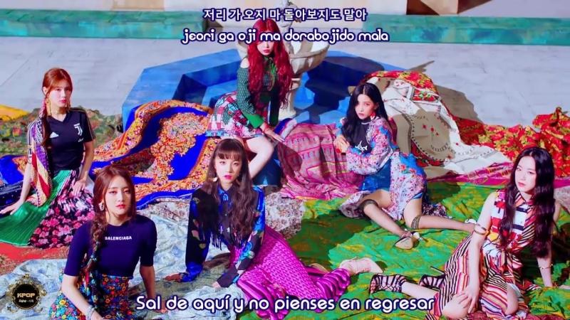 (G)I-DLE - Hann - (Sub Español | Hangul | Roma)