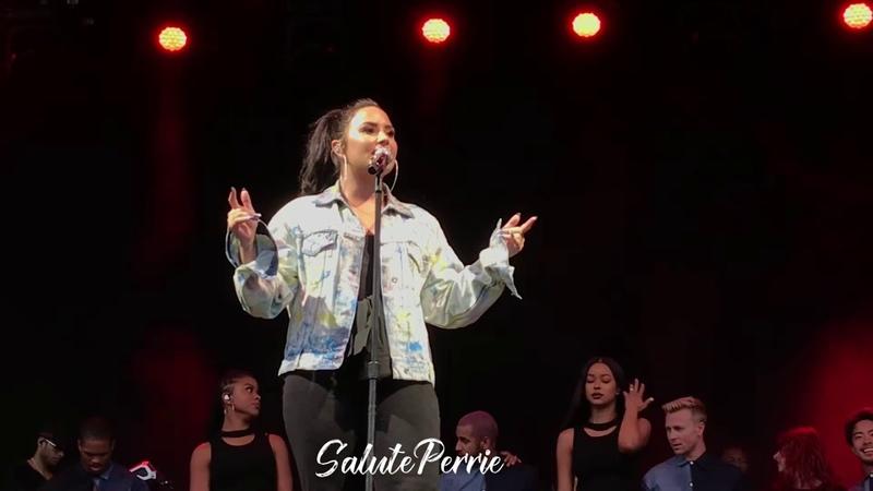 Demi Lovato - Tell Me You Love Me (Newmarket) 9/6/18