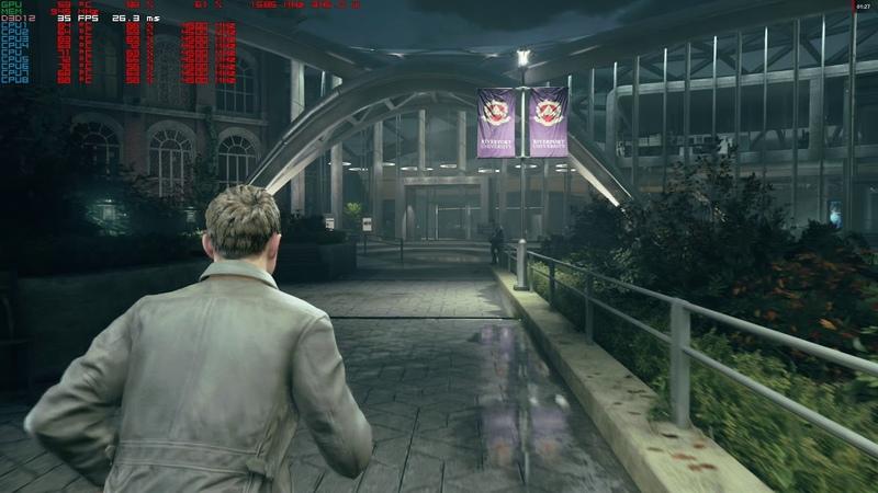 Quantum Break dx12 4k,2160p gameplay rx vega 64 liquid